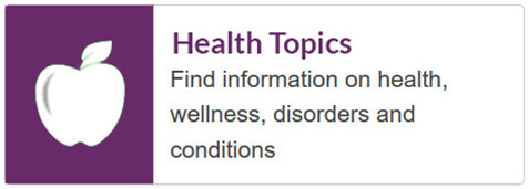 Medline health topics